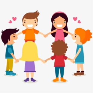 Children Holding Hands Png , Transparent Cartoon, Free.