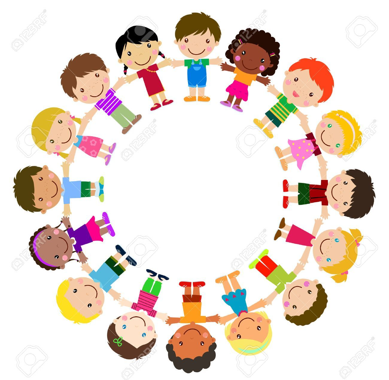 Kids in a circle clipart 2 » Clipart Portal.