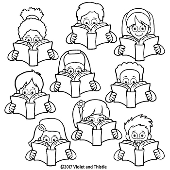 Clipart Reading Kids Clipart Kids Reading Clipart Clip Art.