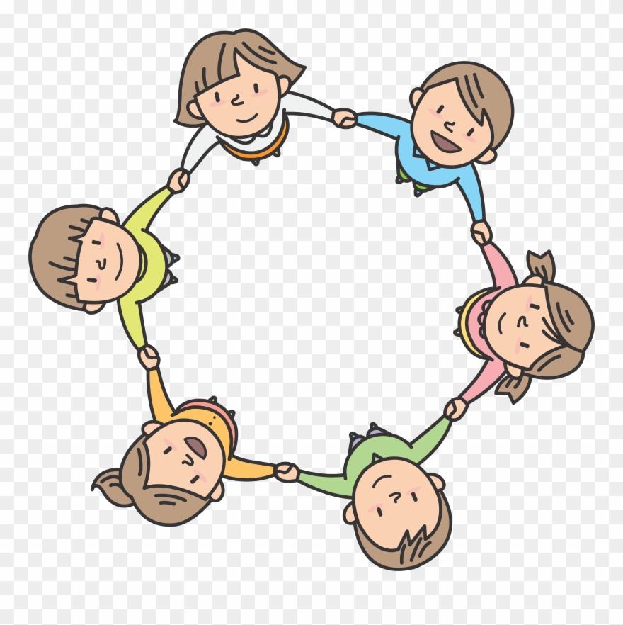 Children In Circle.