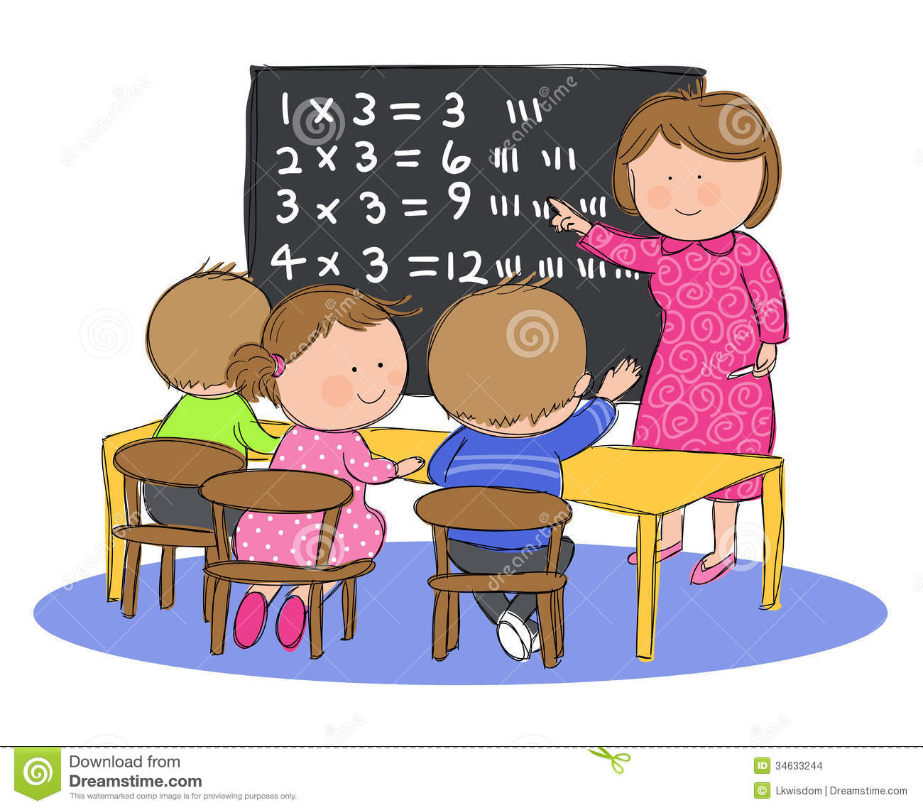 Children in classroom clipart 5 » Clipart Station.