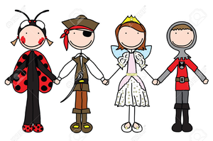 Costume clipart children\'s, Costume children\'s Transparent.