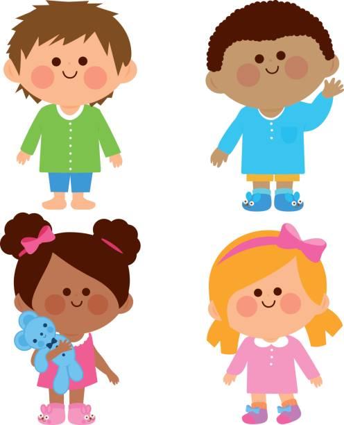 Kids pajamas clipart 6 » Clipart Station.