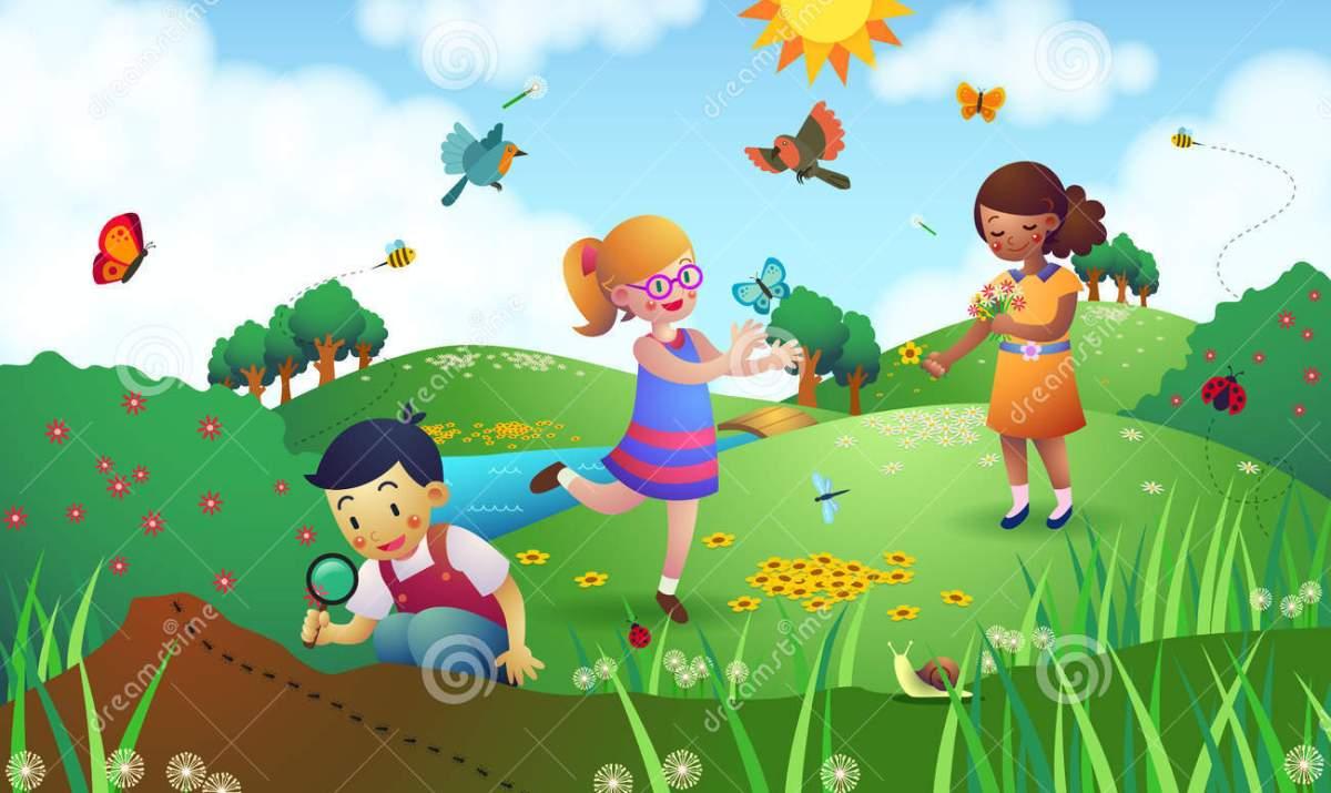 Kids Gardening Clipart Clipartfest.