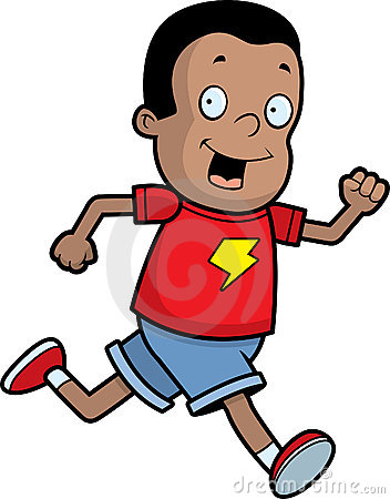 Kids jogging clipart 6 » Clipart Station.