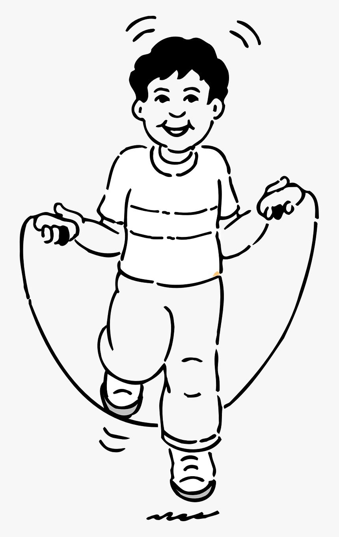 Transparent Kid Jumping Png.