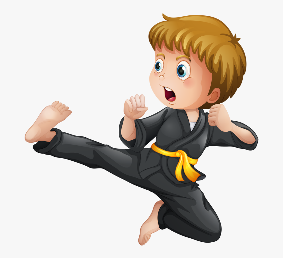 Karate Clipart Karate Chop.