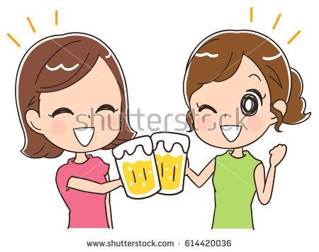 Illustration Little Male Female Kids Laughing Stock Vector.