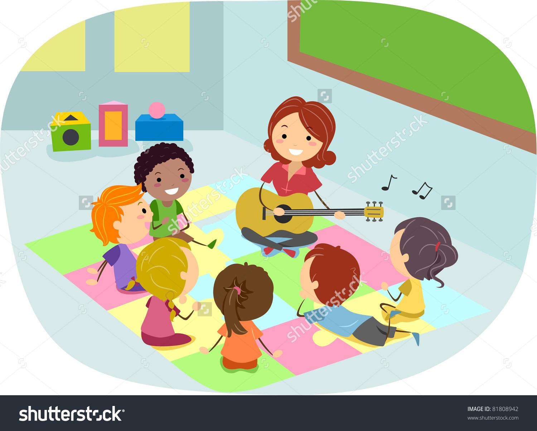 kids listening to teacher clipart clipground