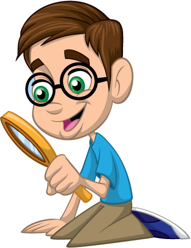 Magnifying Glass Clipart For Kids.