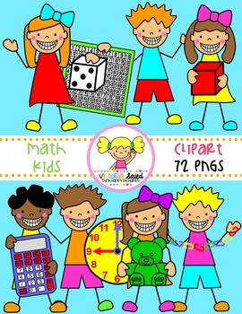 Math Clipart {Kids Clipart}.