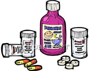 2467 Medicine free clipart.