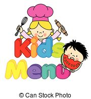 Children menu Vector Clipart Royalty Free. 5,796 Children menu clip.