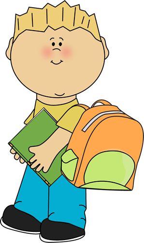 Clipart kid misbehaving in school.