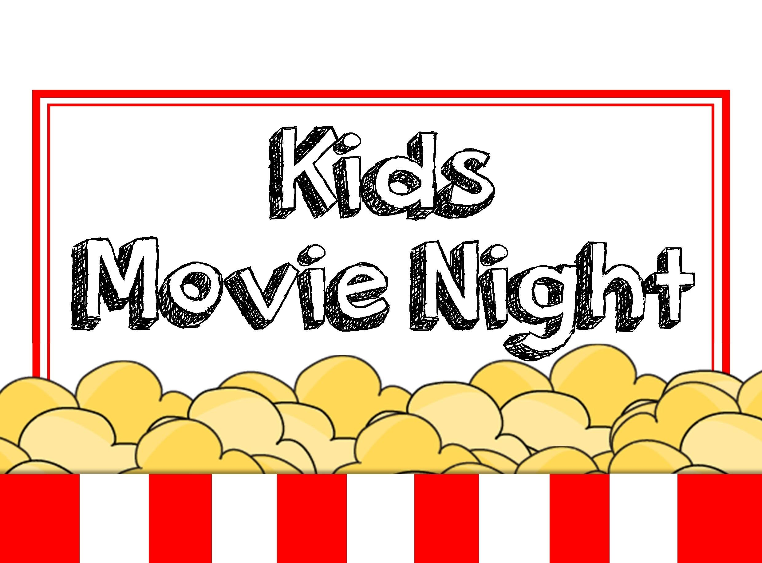 Movie Night Clipart Group (+), HD Clipart.