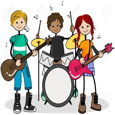 Music Clipart For Kids.
