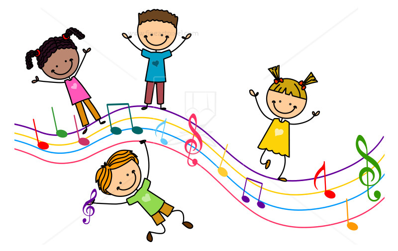 Kids music clipart 8 » Clipart Station.