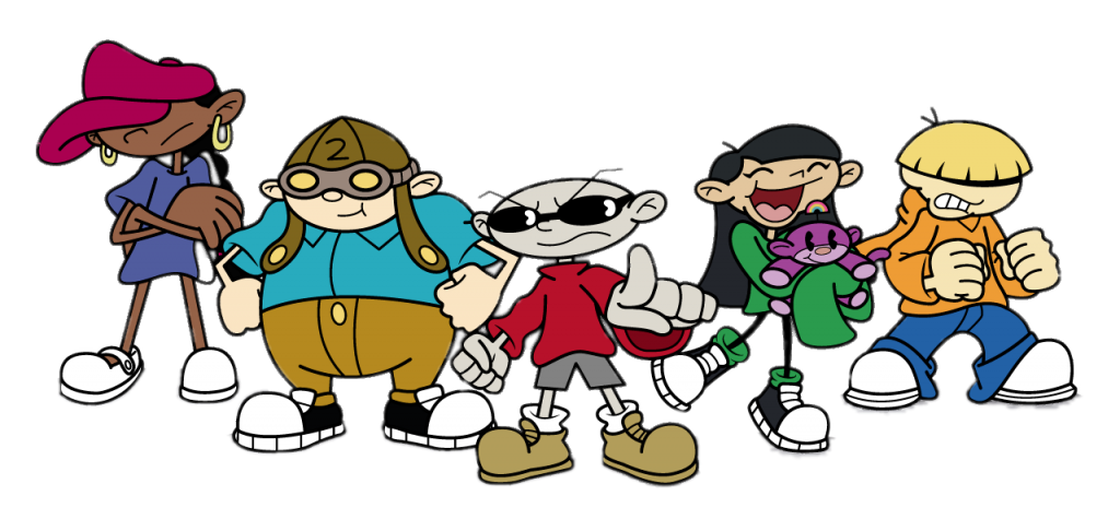Check out this transparent Codename Kids Next Door gang PNG.