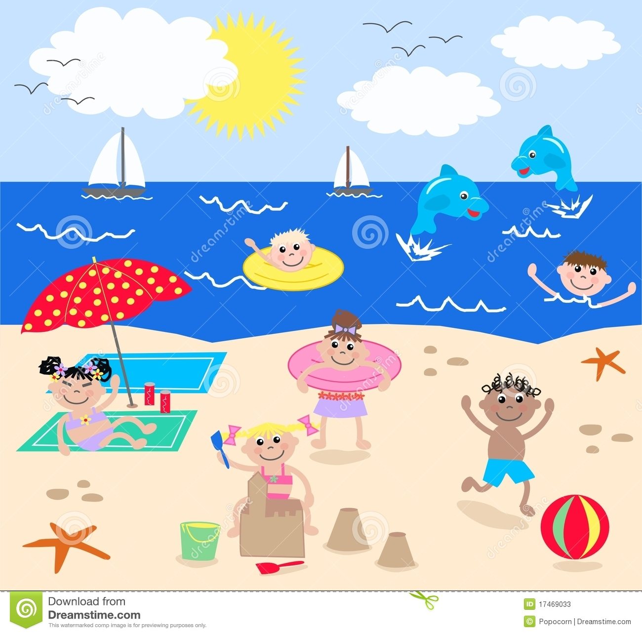 The beach of clipart - Clipground