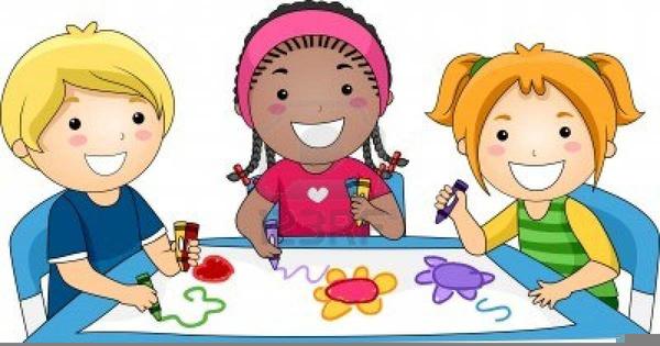 Children Painting Clipart.