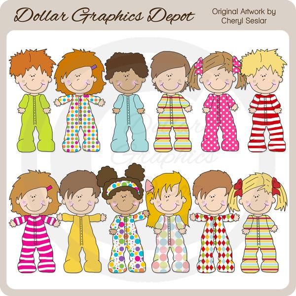104+ Pajama Day Clip Art.