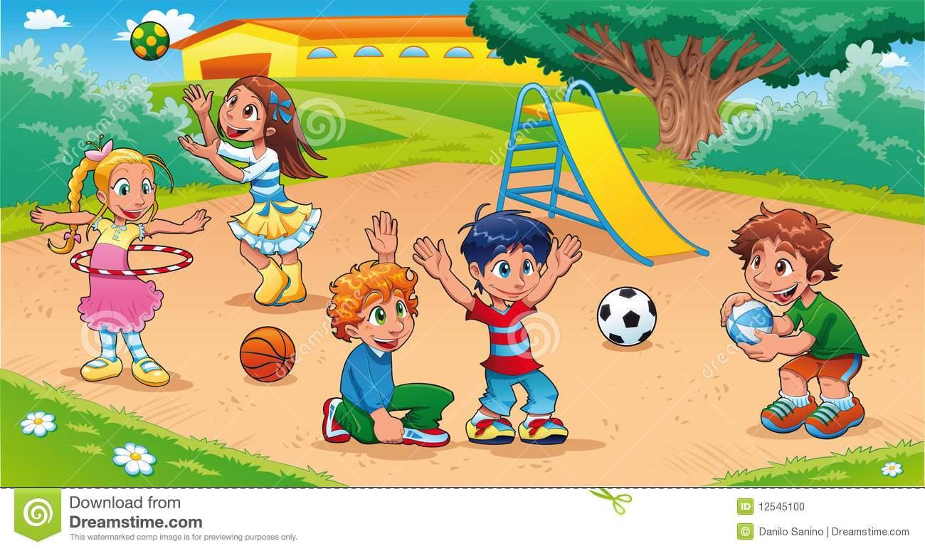 Kids park clipart 3 » Clipart Portal.