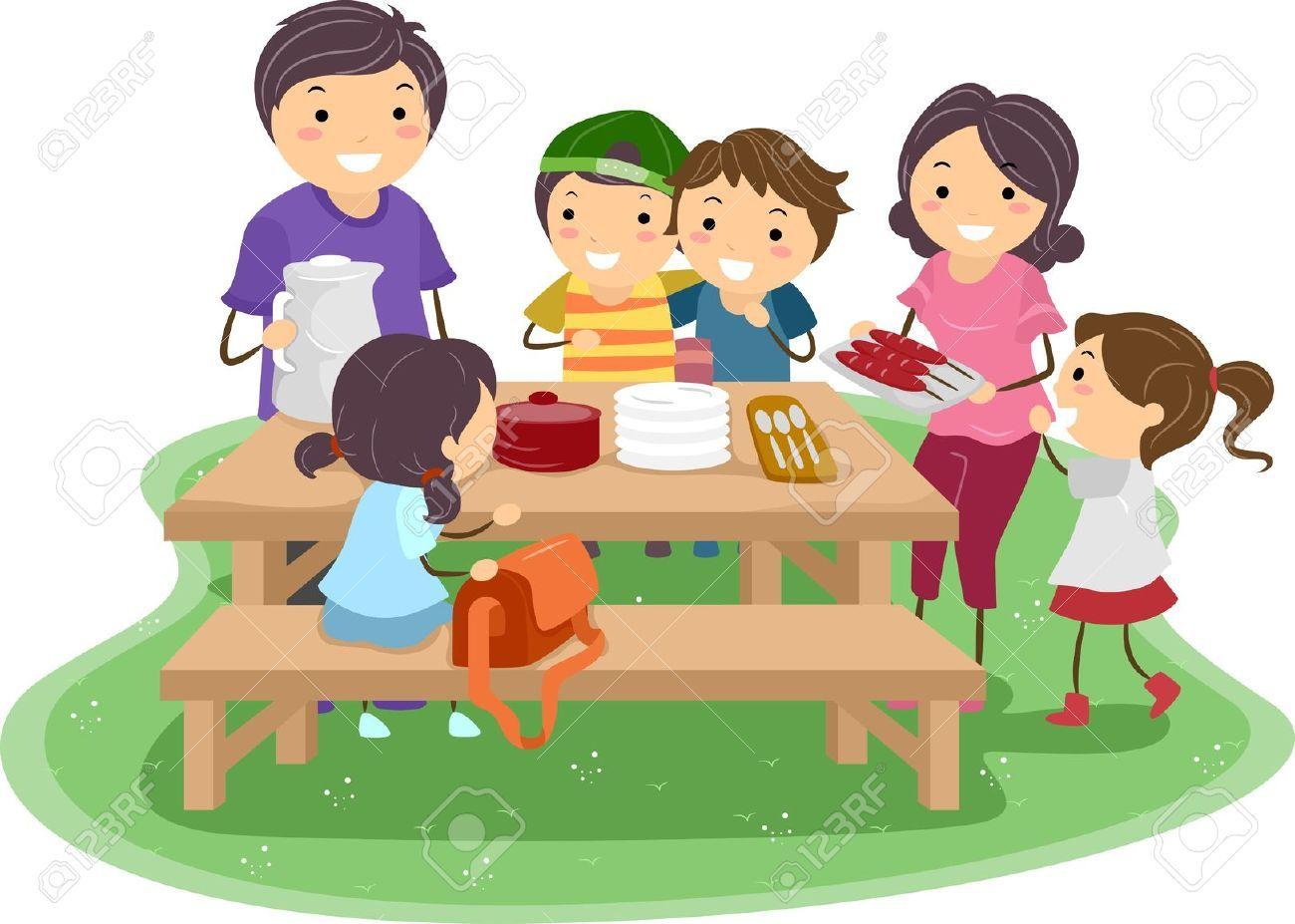 Kids picnic clipart 3 » Clipart Portal.