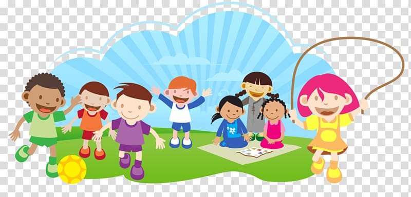 School Children transparent background PNG cliparts free.