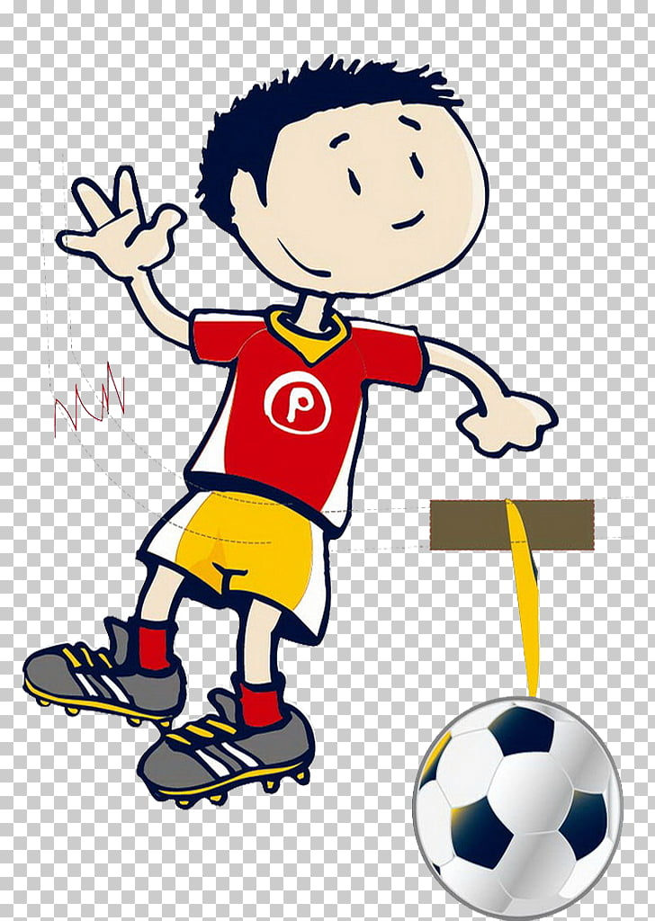 Football Kickball , Kids kick PNG clipart.