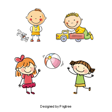 Kids Playing PNG Images.