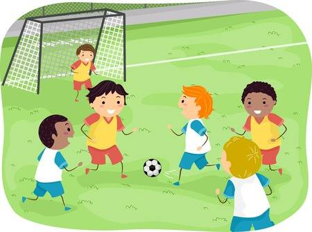 8,211 Kids Soccer Stock Vector Illustration And Royalty Free Kids.