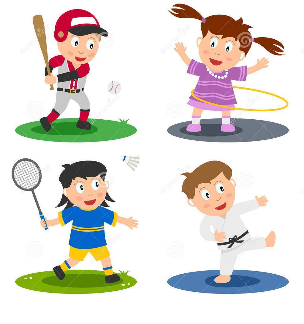 Kids Sports Clipart Sport.