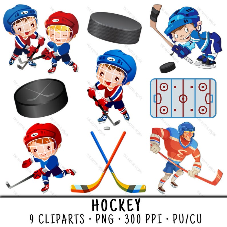 Hockey Clipart, Sports Clipart, Hockey Clip Art, Sports Clip Art, Kid  Hockey PNG, PNG Hockey Kid, Sport Hockey PNG, Kid Sport Hockey.