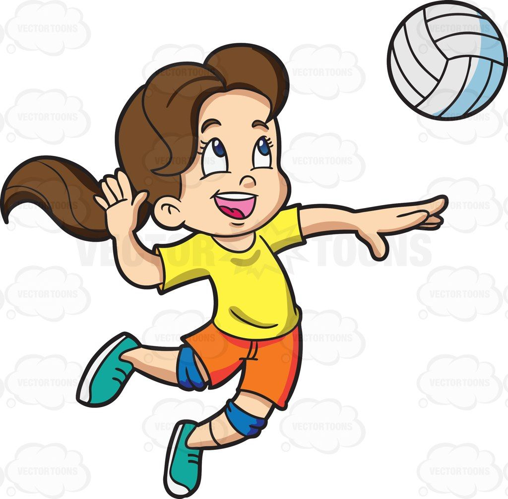 A girl playing badminton.
