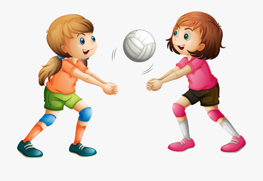 Kid Clipart Volleyball.