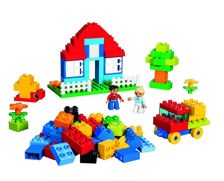 LEGO DUPLO 5507: Deluxe Brick Box: Amazon.co.uk: Toys & Games.