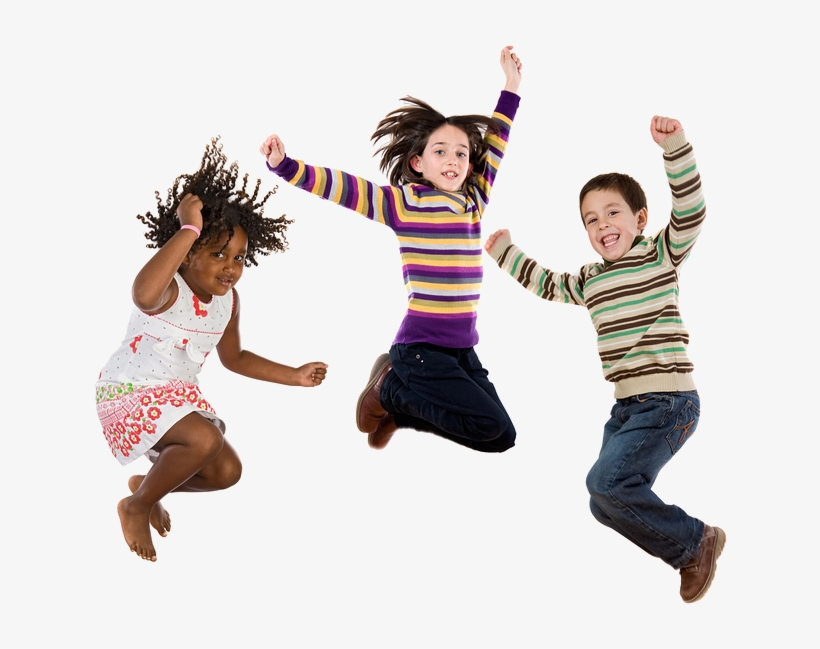 Jumping Kids Png Download.