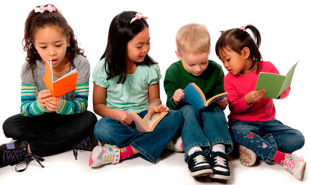 PNG Kids Reading Transparent Kids Reading.PNG Images..