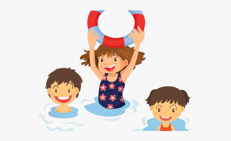 Clipart Kid Swimming Pool.
