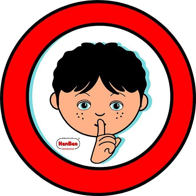 Resultado de imagen para silencio kids clipart.