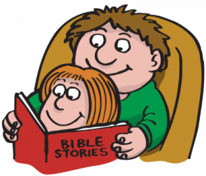 Kids reading the bible clipart clipart images gallery for free.