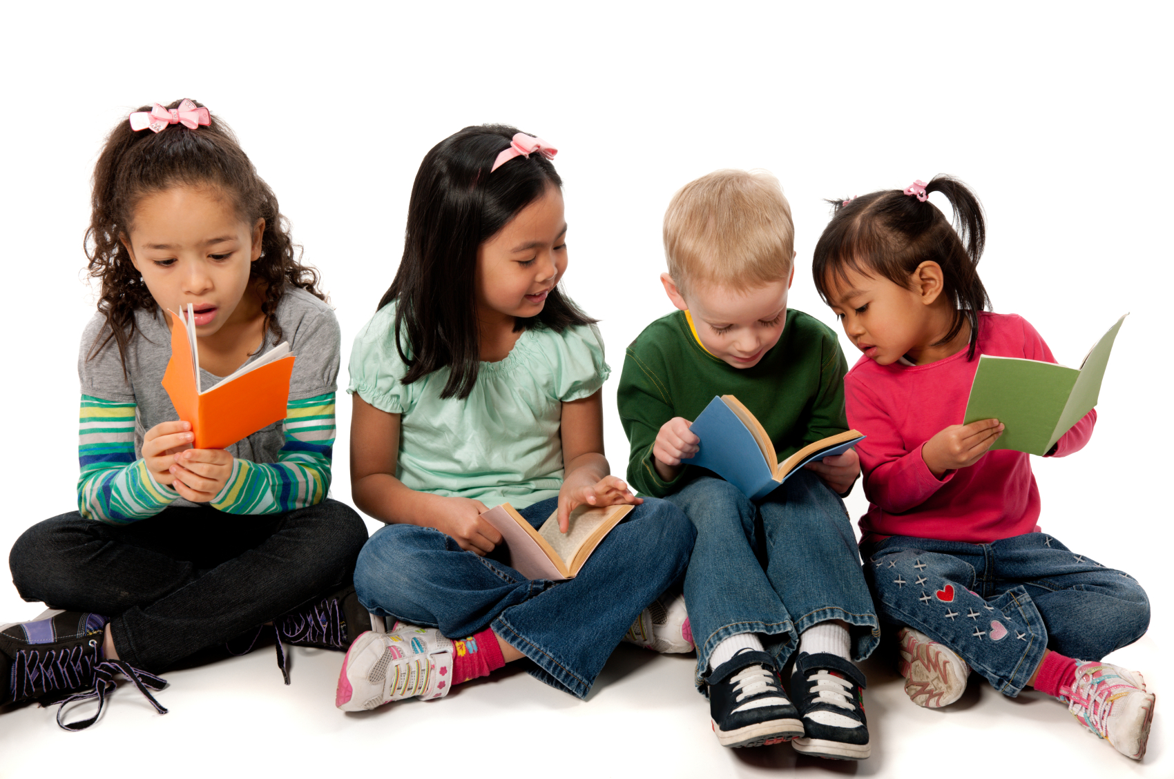 PNG HD Of Kids Reading Transparent HD Of #262242.