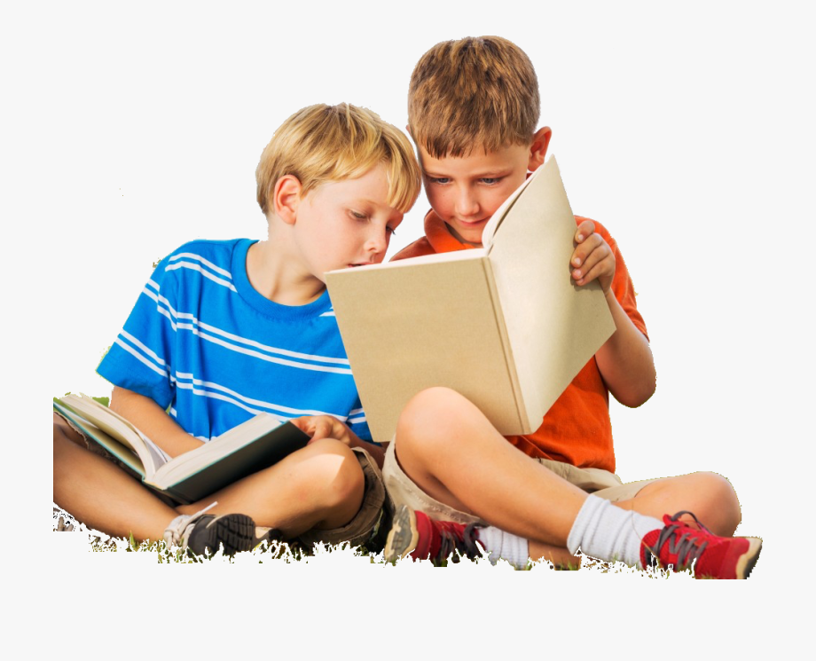 Kids Reading Png.