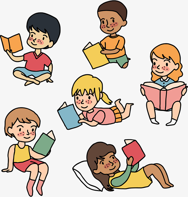Children Reading, Storybook, Pillow PNG #262239.