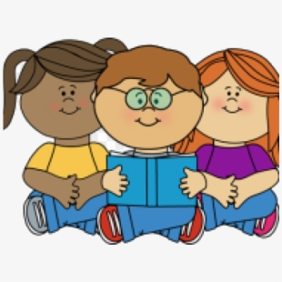 PNG Of Kids Reading Cliparts & Cartoons Free Download.