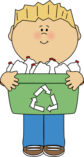 Kids Recycle Clipart.