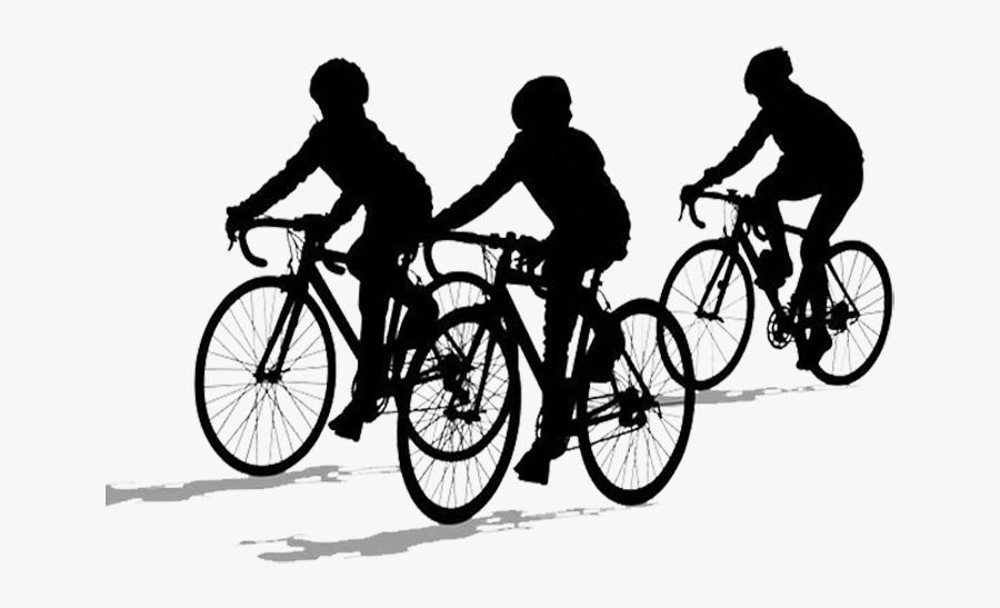 Transparent Kid Riding Bike Clipart.