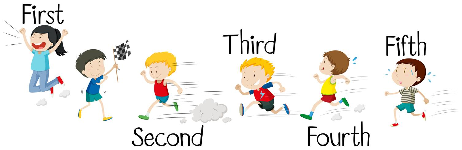 Kids running in race.