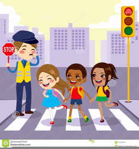 Pedestrian Safety Clipart.