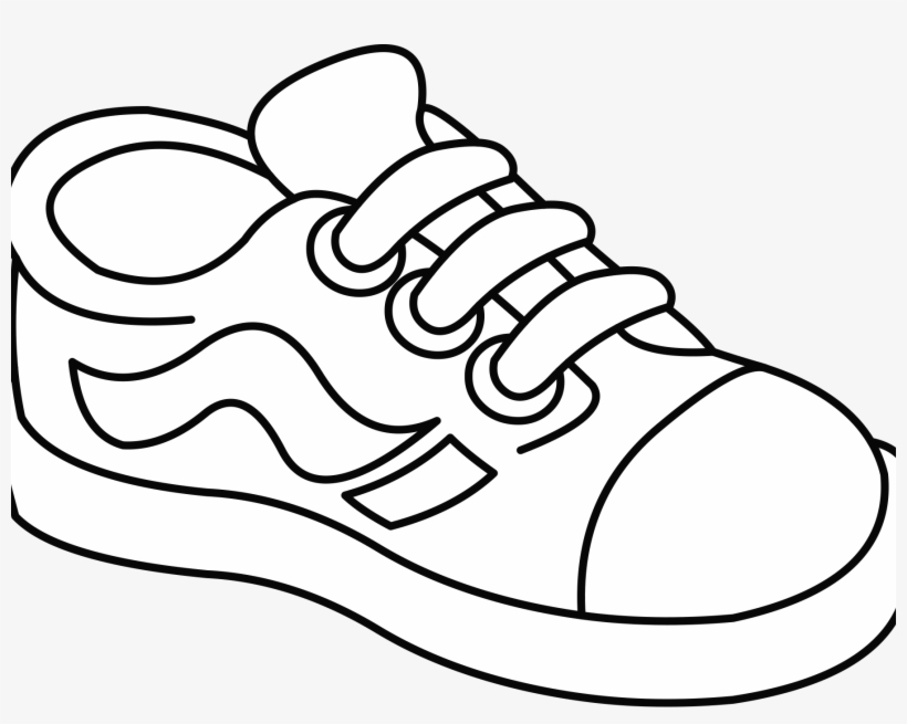 Kid Shoe Clipart.